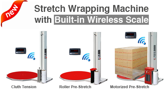 stretch-wrapping-machine